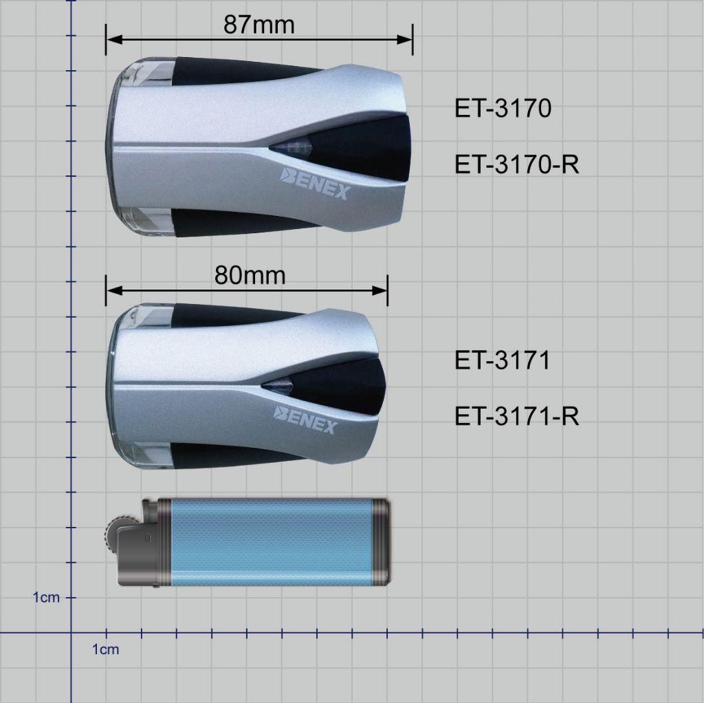 ET-3171-R 德規 K-MARK 截止線 智能感測調光自行車前燈