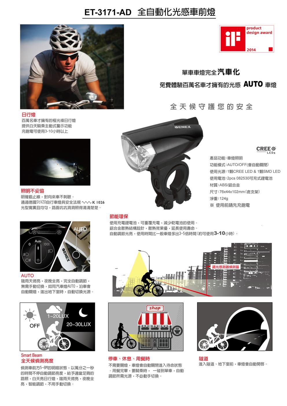 ET-3171-AD 日行燈警示前燈